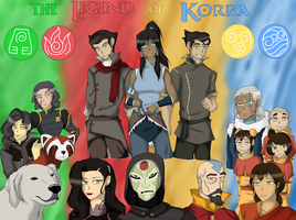 The Legend of Korra by Featherwolf-Pluma