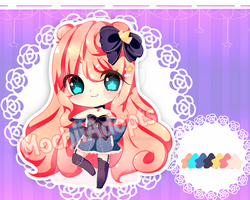 [ENDED] |AUCTION| : Chibi Adopt #16 by MochiiAdopts