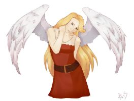Angel of christmas by omgOVER9000