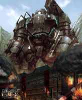 Siege Engine Omega by Ron-faure