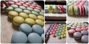 1:1 fake macarons by Snowfern