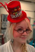 Skittles Hat by Lovely-LaceyAnn-Art