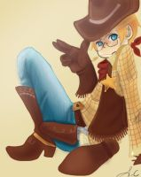 Cow Boy: AMERICA by IclaimThisname