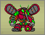 Thorn Mosquito 16 (Mega Man X.CAL) by Caluctor