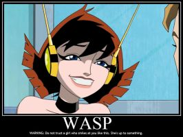 Wasp is Up to Something Demote by Sailmaster-Seion