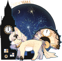 Day 31: New years by Belliko-art