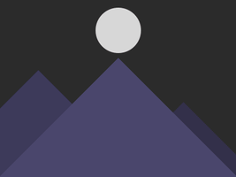 Mountains Animation by ChildrenAreWatching