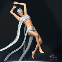 Fabiana - Elf Character Study by mike-reiss