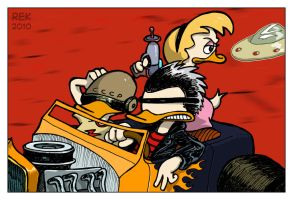 055: Paranoid Duck and Roll by dunwich7