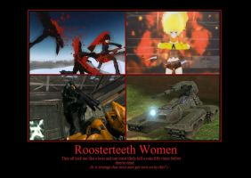 Roosterteeth Women by RedScar-Nova