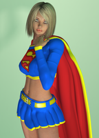 Supergirl by bigcurf