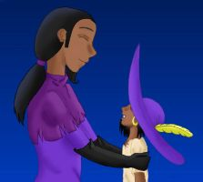 Clopin's dad and Clopin-color by Lolo243