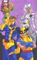 X Men by Mawnbak