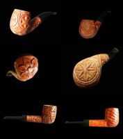 SMOKING PIPES by MassoGeppetto
