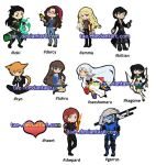 Pair-me-a-Keychain v2! by tae-