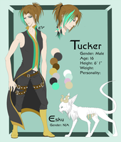 Tucker - Ref Sheet Commission by Ignyae