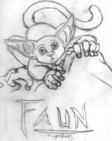 Faun the Tree Squeak by erisa