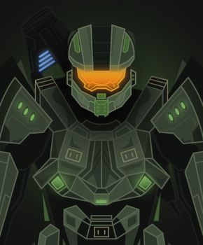 Master-Chief by InkTheory