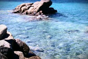 Only the sea~Mikonos! by LadyEdile