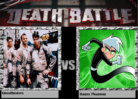 Death Battle: Ghostbusters vs. Danny Phantom by kart42