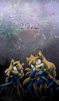 Happy new year 2012 by Pichu-Chan