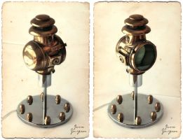 Steampunk light by Jesse-Gourgeon