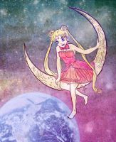 Moon Girl by YazzyDream