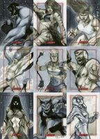 Marvel: 2012 Greatest Heroes Sketch Cards 06 by RichardCox