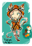 Kiriban: Custom Adopt for Anja23 by Nethyrmea
