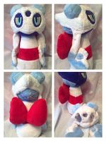 froslass Plush by LRK-Creations
