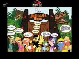 JURASSIC PARK MLP by chiimich