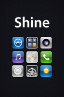 Shine iPhone Theme by randomus-r