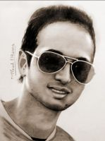 portrait drawing by mathio91