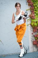 Portal 2 - Chell I by Robowolf