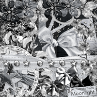 MOONLIGHT SCRAP KIT by candyass112