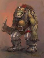 Orc by grey3Dx