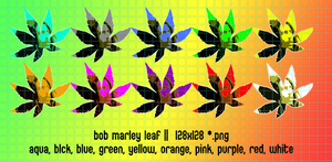 marley leaf for mac 128x128 by gr8koogly