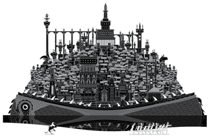 Leviathan's City from Hell Lost by jtillustration
