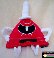 Mad Bill Cipher Plush by QueenBeePlush