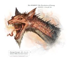 Smaug Version 03 by MIKECORRIERO