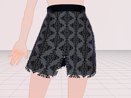 MMD Tight Skirt by amiamy111