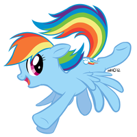 Rainbow Dash Redux by empty-10