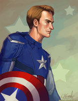 Captain America by emengel
