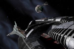 Battlestar Galactica v2.0 by Robby-Robert