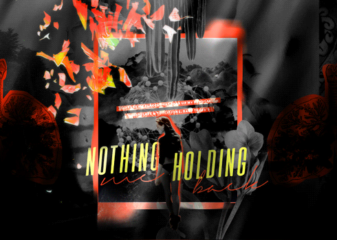 Nothing Holding Me Back Blend [GIF] by broken-halves