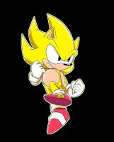 Classic Super Sonic by SparksChannel[Mikey] by SparksChannel6