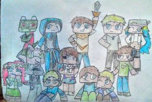 The V team by Baumbs
