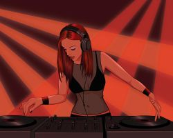 Dj Girl by Cybazaar