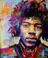 Jimi Hendrix by Berko-art