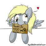 Thanks for over 1000 watchers! by Kiyoshiii